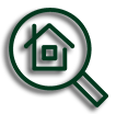 Magnifying Glass With House Icon